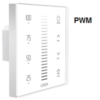 E1S Single Zone PWM Touch Panel Dimmer